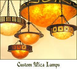 Mika lighting Shade Mica Lamp Company Eureka Lighting Mica Lamp Company Turn Of The Century American Lighting Design And